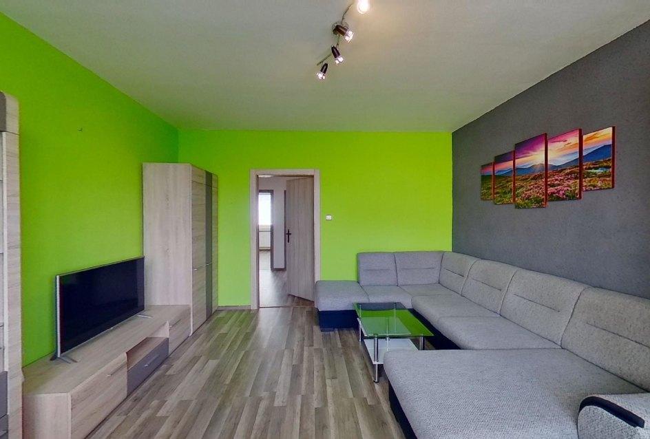 Obývacia izba so zariadením