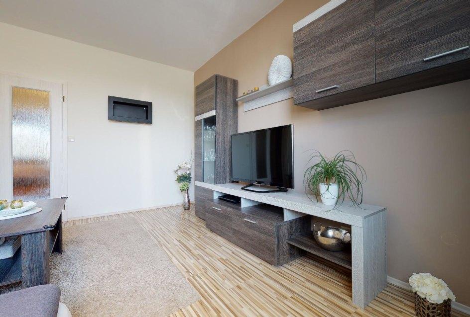 Obývacia izba pohľad na obývaciu zostavu