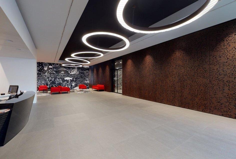 Recepcia s prevádzkou 24/7 v Panorama Towers - Eurovea City