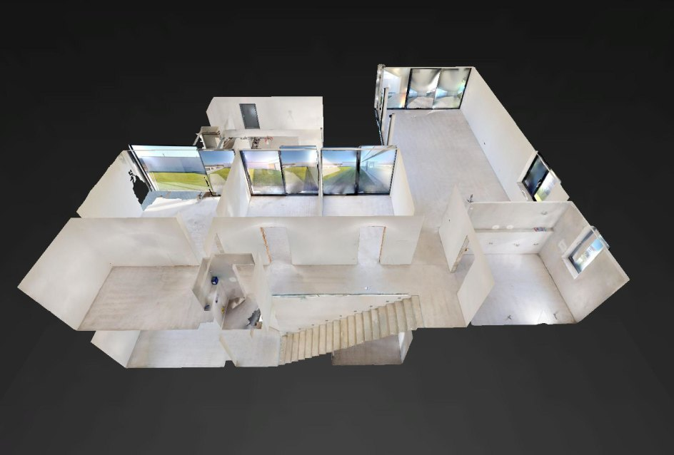 3D pohľad na dom