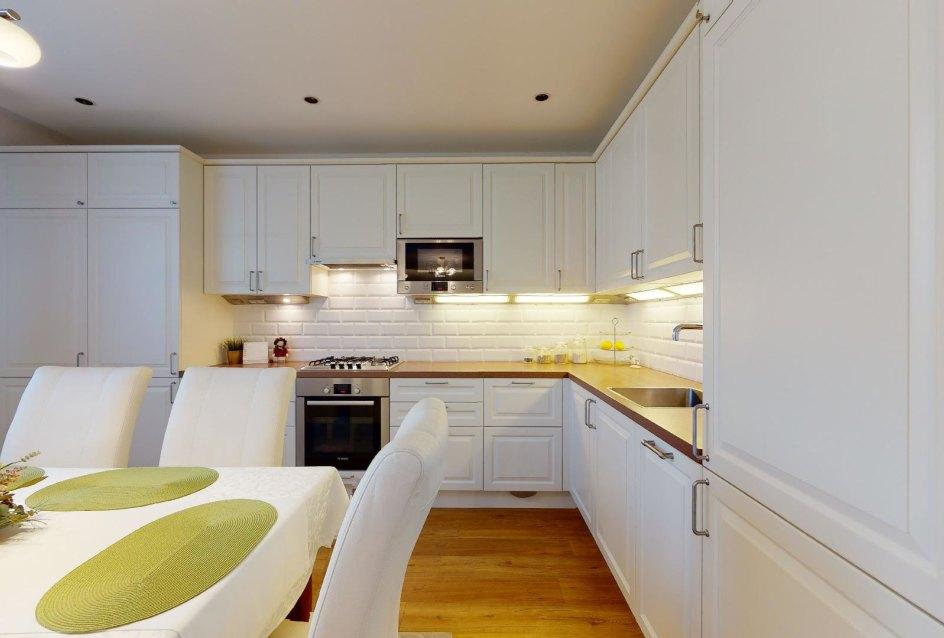 pohľad na kuchynskú llinku
