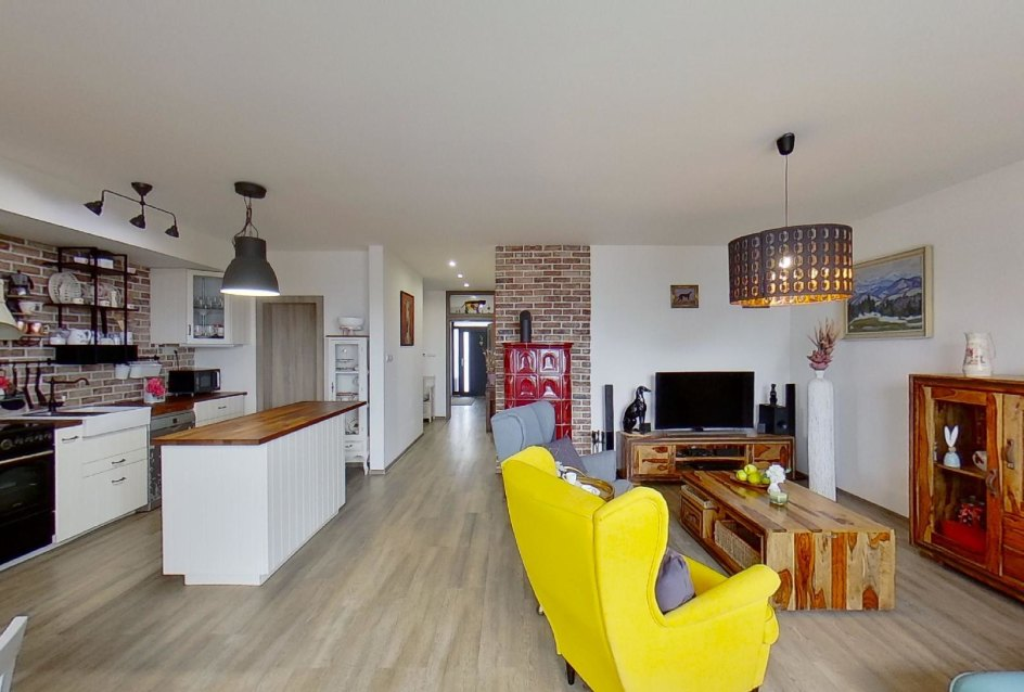 kuchyňa s obývacou izbou