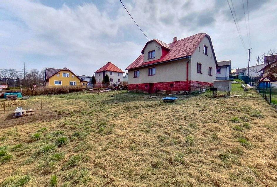 rodinný dom v obci Čierne, okres Čadca