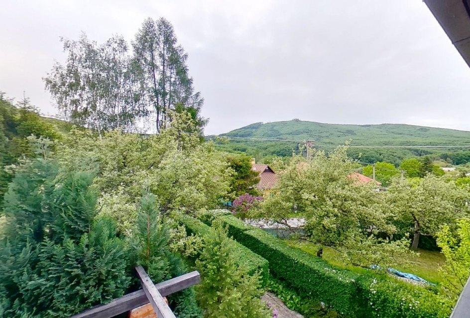 výhľad na Slanské vrchy