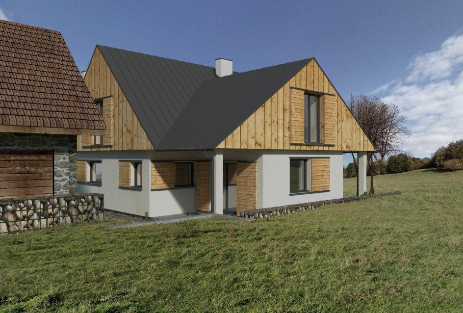 Vizualizácia rodinného domu 4