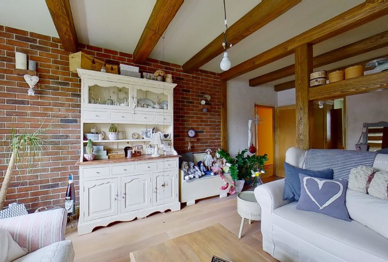 Obývacia izba 2-izbového bytu na Trnavskej v Žiline - Vlčince III.