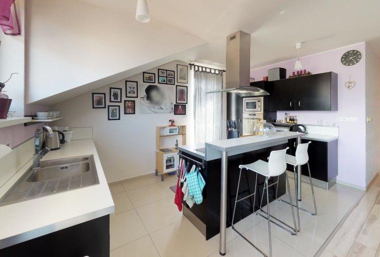 Kuchyňa 3-izbovégo bytu v Kysuckom Lieskovci