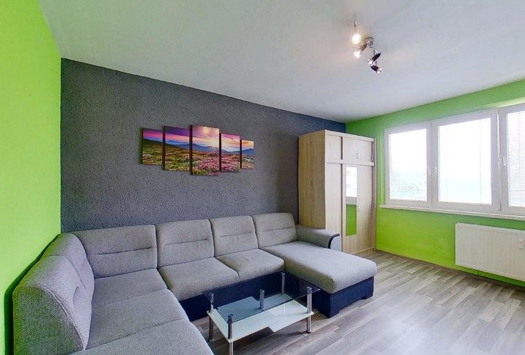 Obývacia izba so sedačkou