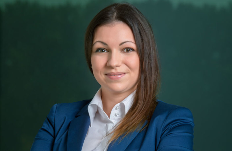 prevádzková riaditeľka, Ing. Katarína Posoldová, RSc.